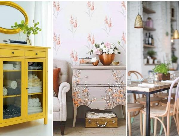 Felismerhetetlenre újíthatod a bútoraidat egy szimpla festéssel