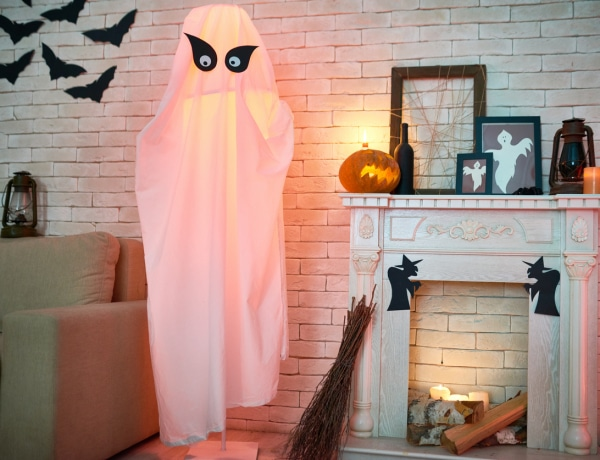 Halloween buli lesz nálad? 5 ijesztően könnyen elkészíthető dekoráció